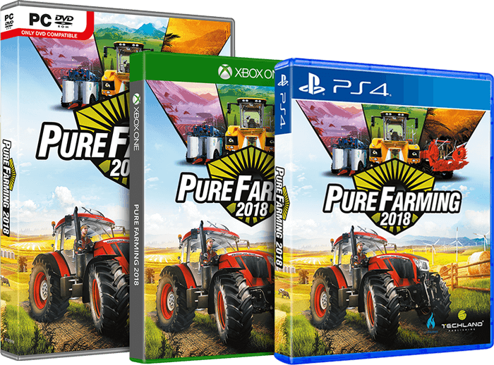 Pure Farming 2018 platform boxes