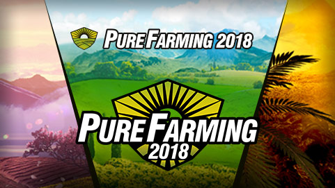 Pure Farming 2018 Logo