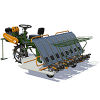 Redlands Champion RP 824 Rice Transplanter