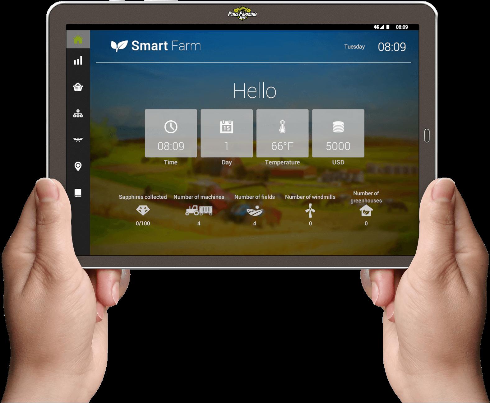 Smart Farm • Pure Farming 2018
